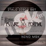 Future Formal: Italo Disco set