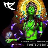 Plekktron & STYXJourney - Twisted Beats (LIVE MIX)