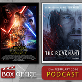 BOX OFFICE: Force Awakens and The Revenant (13th Feb 2016)