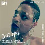 Francis Redman & Pursuit Grooves - 15th April 2018