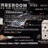 2015/6/23 WIRBEROOM@Sound Bar Pure's