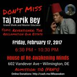 Grand Sheik Taj Tarik Bey All Rights Reserved - Reversioner 02_17_2017
