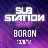 BORON ● Set + entrevista en Substation Radio On Line ● AGOSTO 2014