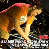1000 tracks promo for Bladerunnaz Radio Show by Savage 20130715