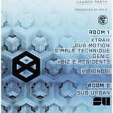 DELIRIUM ROOM 2 PROMO MIX: Cyberfunk Xtrah EP launch, Volks, Brighton