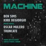 Ben Sims & Truncate @ Machine - Corsica Studios London - 18.12.2015 - Part 2