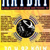 Joey Beltram, Jeff Mills, Lenny Dee, Aphex Twin, DJ Hell & More @ Mayday - April 1992 - TAPE 1 of 6