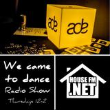 Graeme P & Soul Diva - ADE Special - We Came To Dance Radio Show 24 OCT 2019