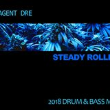 Steady Rolling - Drum & Bass Mix - 2018  - by Dj Agent Dre