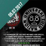 FreeK UrbanMag (5. Juli 2017): Zulu Nation live in Studio