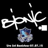 DJ Bionic live @ Audiosport on Board Boatstour 2012