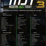 Modern Jazz Today - Episode #165 - The Week of April 1, 2019