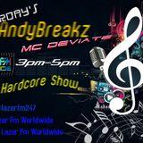 Dj andybreakz with mc deviate on  lazer fm 30/07/2016