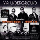 Via Underground - Depeche Mode x Front 242 Special - Marcelo Vitorino DJ Set - 2017, 02 April