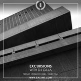 Excursions #59 • With DJ Gilla • Recorded Live On Balamii • April 2018