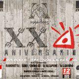 DJ ALCAPONE 1ºpart 24º ANIVERSARIO HEAVEN - 13-06-15 Spook (Valencia)