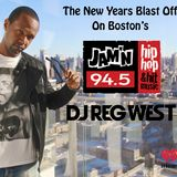 Jamin 94.5 Boston NYE 2016 Mix Show with DJ Reg West
