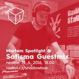 Shadowbox @ Radio 1 19/06/2016: Satisma Guestmix, Mortem Spotlight