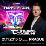 Thomas Coastline - Live @ Transmission (The Creation, Prague) 21-11-2015