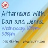 Afternoons with Dan and Jenna Podcast 8