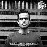 Global Beats Radio W/ Jordan Rakei - 7th Oct 2016