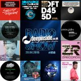 DEEPINSIDE RADIO SHOW 056 (Cotterell Artist of the week)