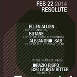 Butane - Live @ Output (New York) - 22.02.2014
