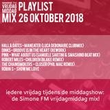 VrijdagmiddagMix - 26/10/2018 - SimoneFM