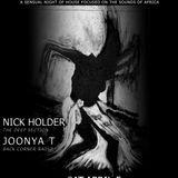 [LIVE SET] JOONYA T & NICK HOLDER @ AFRO•DISIAC [April 5th 2014] (Toronto, CA)