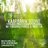 Kaarbanik Sound w/ Findingthings & Hartta - April 2018