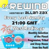 Allan Zax - REWIND Episode 6 on WestRadio.gr (29.07.12)