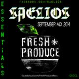 Fresh Produce: Saelios September 2014 Essentials Mix