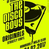 THE DISCO BOYS ORIGINALS | ALL NIGHT LONG | VINYL DJ SET | LIVE FROM MOJO CLUB | HAMBURG | 2017
