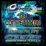 Universal Drumz DJ Competition