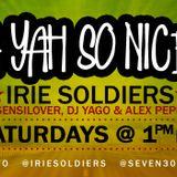 """A YAH SO N!CE"" IRIE SOLDIERS Radio MixShow #31/2013 RaggaDagga (DjSensilover) Mar2k13"