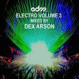 EDM.com Electro Volume 3 Mixed by Dex Arson