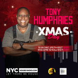 Tony Humphries Merry Christmas NYCHOUSERADIO.COM 2016