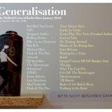 Generalisation Radio Show - January 2018
