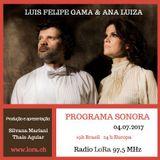 Sonora Luis Felipe Gama e Ana Luiza