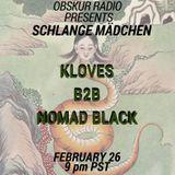 Obskur Radio - Episode 006 - Nomad Black b2b Kloves (February 26, 2017)