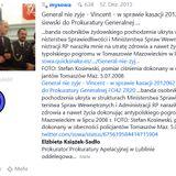 General nie zyje FO42 VINCENT ZR20 w sprawie kasacji Stefan Kosiewski do Prokuratury Generalnej M39