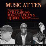 Qool Marv vinyl set at the Music at Ten party | Sisters Brooklyn