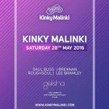 Kinky Malinki Australia 28th May @geisha Perth - Promo Mix - Roughsoul