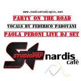 Paola Peroni Live Party on The Road on Air Radio Studio Piu Madonna di Campiglio