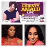 Christy Amalu on London Hott Radio 171017