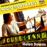 Radio North Kent OB from Folkstone, Helen