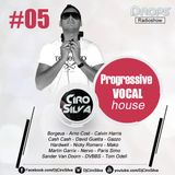 Drops RadioShow #05 - Progressive Vocal House 1 (Dj Ciro Silva)