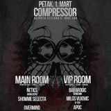 Milos Vujovic @ Club Compressor 1.3.2013