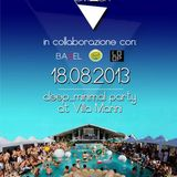 Emanuele Bugliosi @ POOL PARTY (Villa Marini CH) 18.08.2013