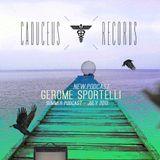 Gerome Sportelli - Caduceus records Podcast - Dub Techno - july 2013